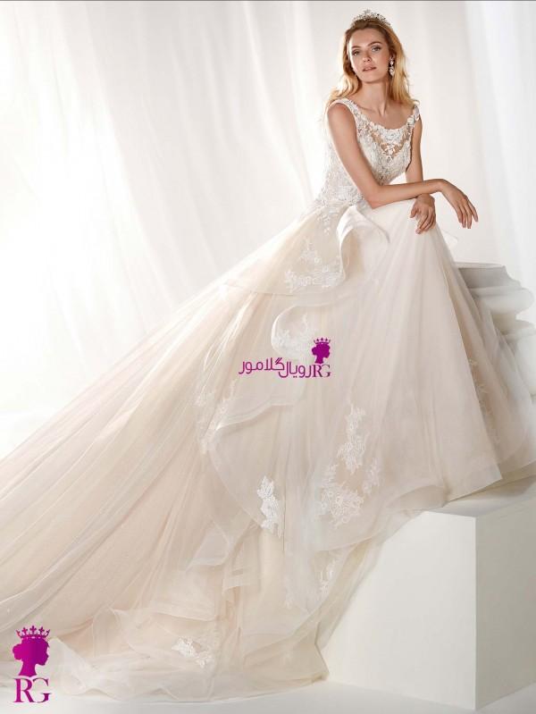 مدل لباس عروس 2020 پفدار