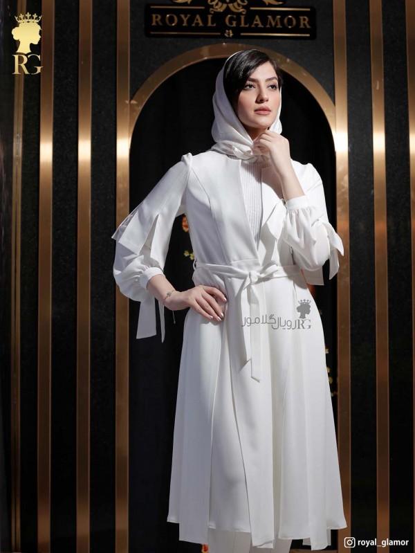 مدل مانتو عقد محضری عروس