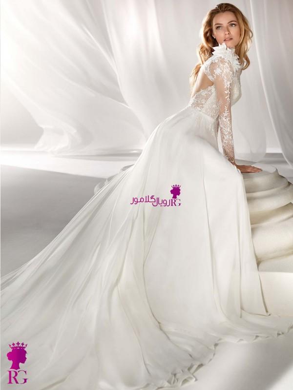 مدل لباس عروس آستین بلند 2020
