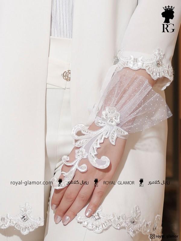 دستبند عروس دستبند توری