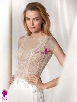 لباس عروس بژ