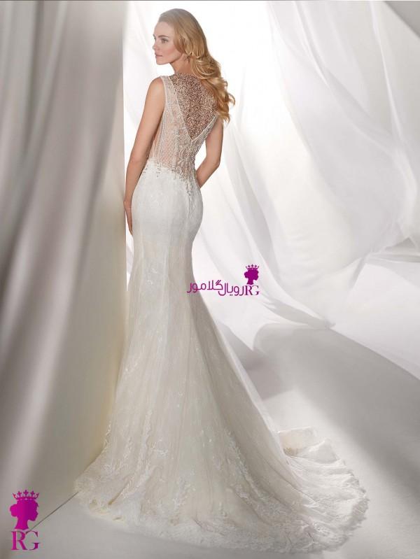 لباس عروس مدل ماهی 2020