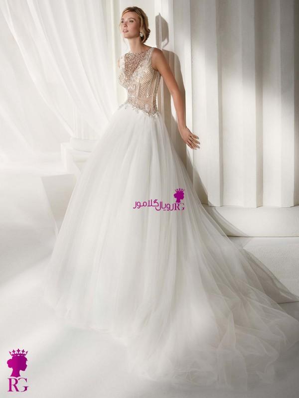 لباس عروس ترک جدید شیک