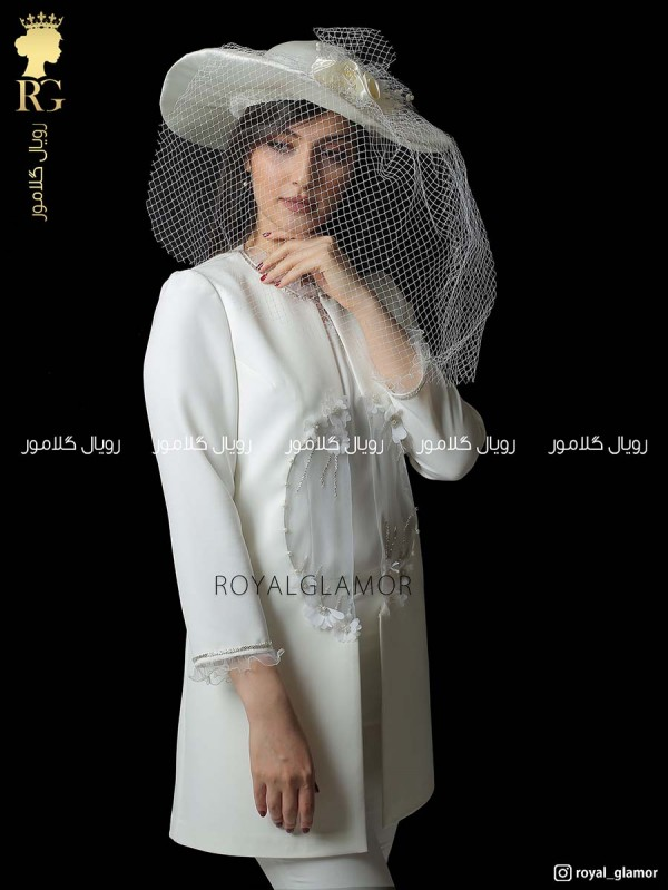 مانتو عقد عروس مدل تاچلی