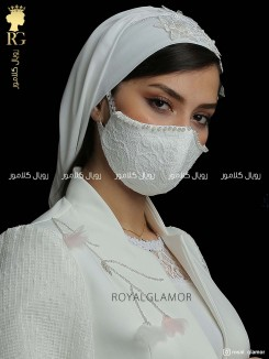 ماسک عروس مدل ترمه