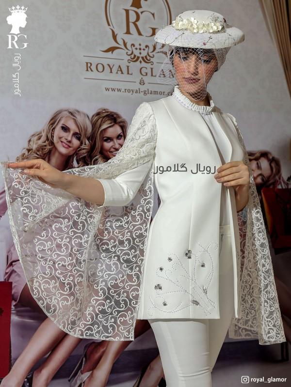مانتو عروس مدل آریا