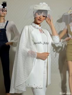 مانتو عروس مدل ارمغان
