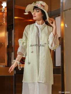 لباس عقد رنگی مدل پانیذ