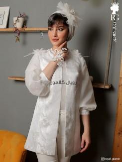 مانتو عروس مدل تبسم