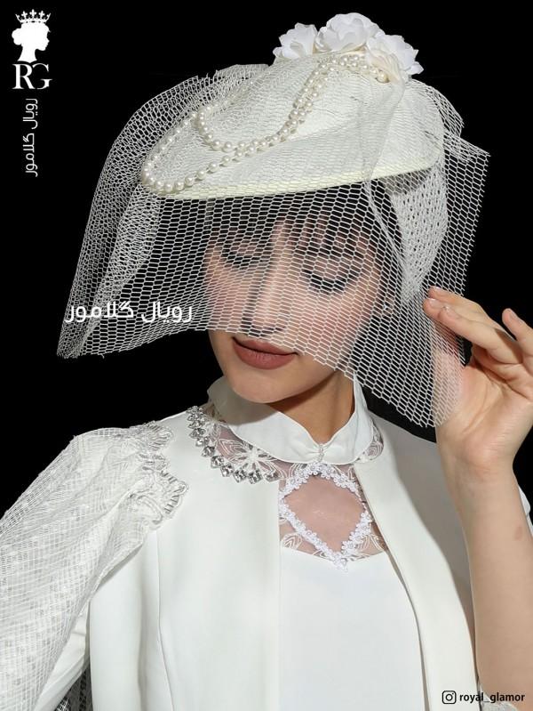 کلاه حجاب عروس