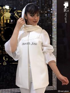 مانتو عروس مدل تینا