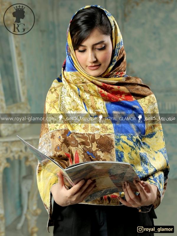 روسری ابریشمی RG6814