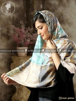 روسری ابریشمی زنانه RG6815