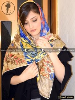 روسری زنانه ابریشمی RG6816