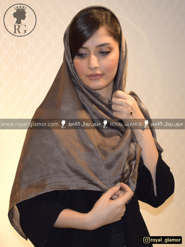 روسری زنانه شاتن ابریشم RG6823