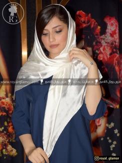 روسری زنانه ساتن ابریشم RG6825