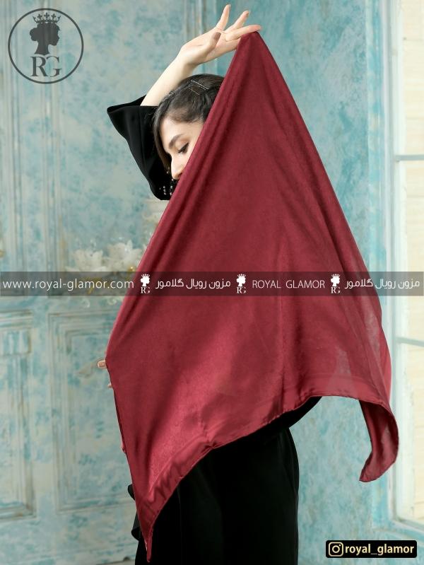 روسری زنانه ساتن ابریشم RG6826