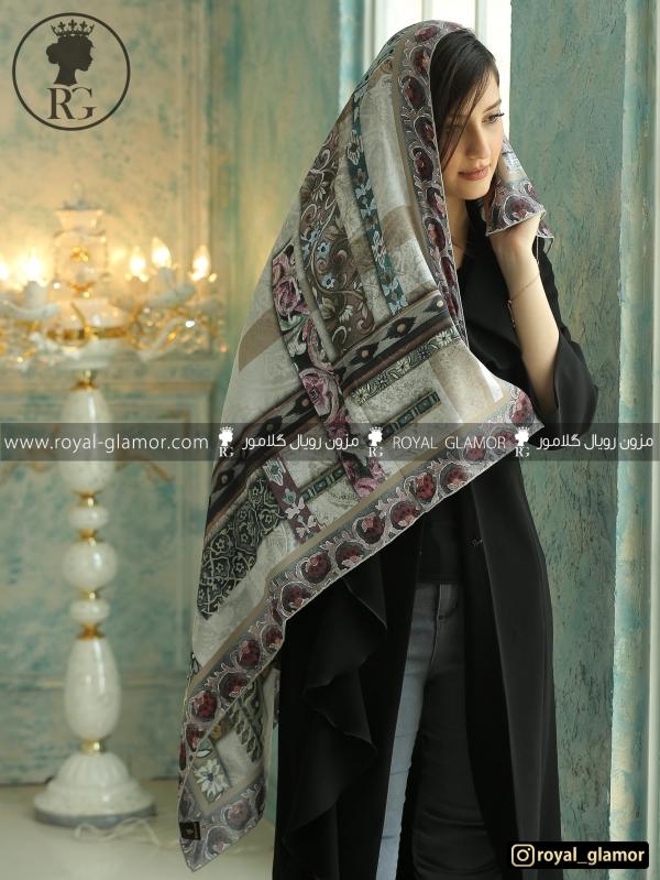 روسری زنانه ابریشم RG6833