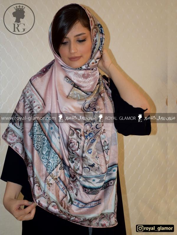 روسری زنانه ابریشم RG6835