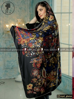 روسری ابریشمی زنانه RG6839