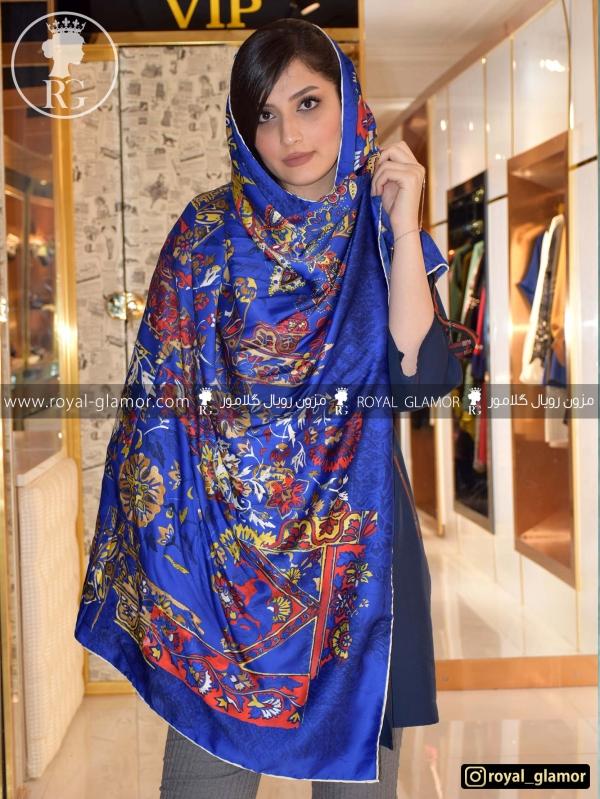 روسری زنانه ابریشمی RG6840
