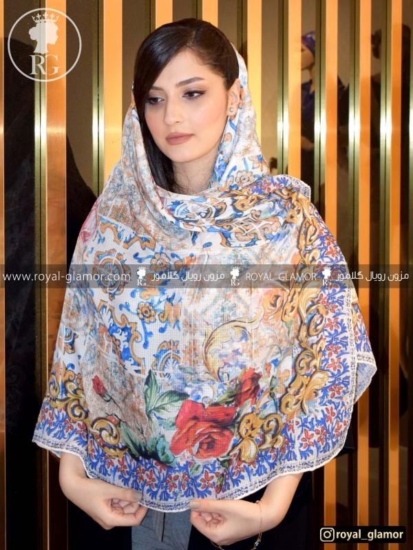 روسری زنانه نخی RG6843