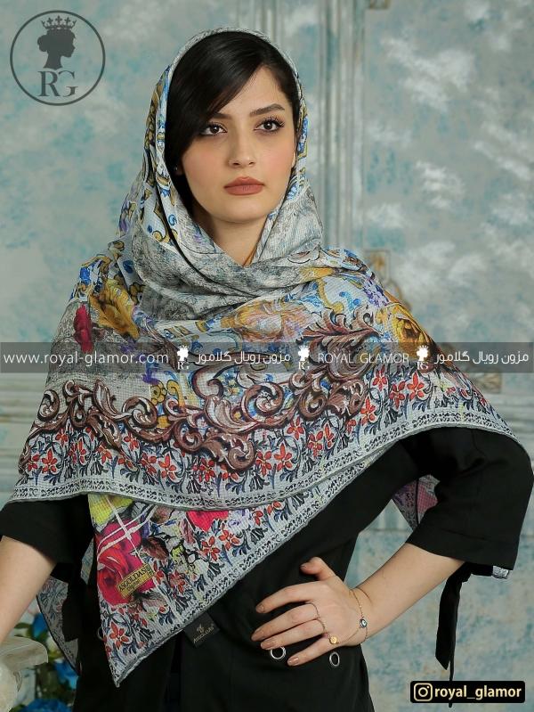 روسری زنانه نخی RG6845