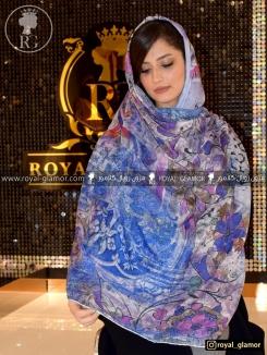 روسری زنانه نخی RG6848