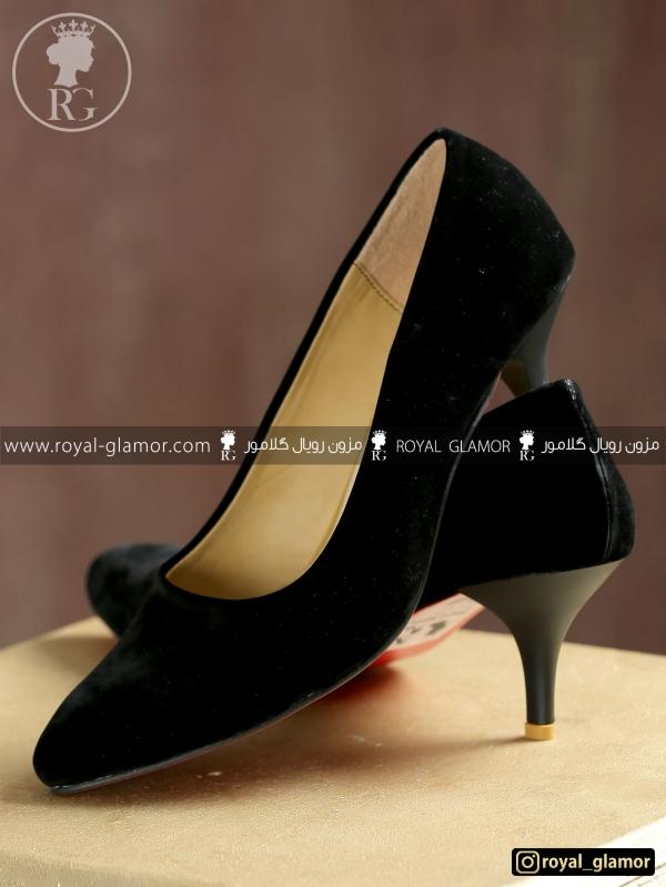 کفش زنانه مشکی RG9812