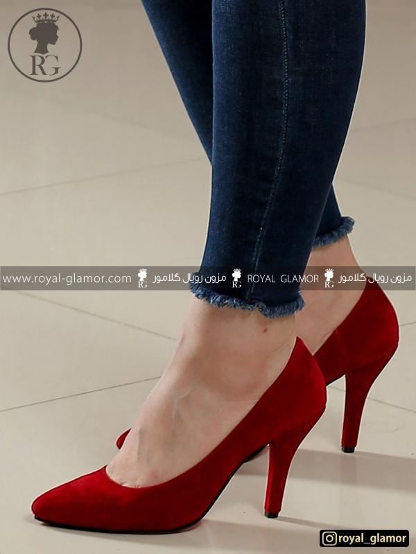 کفش زنانه قرمز RG9813