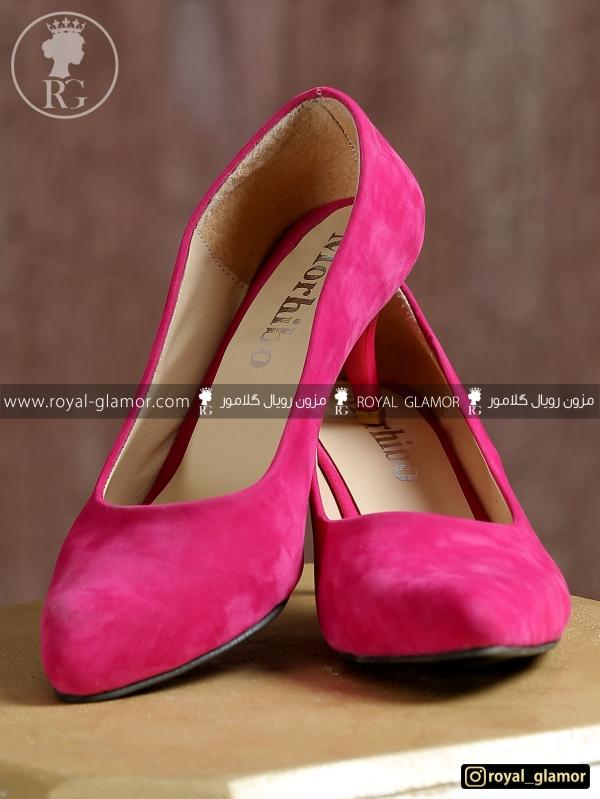کفش زنانه صورتی RG9816