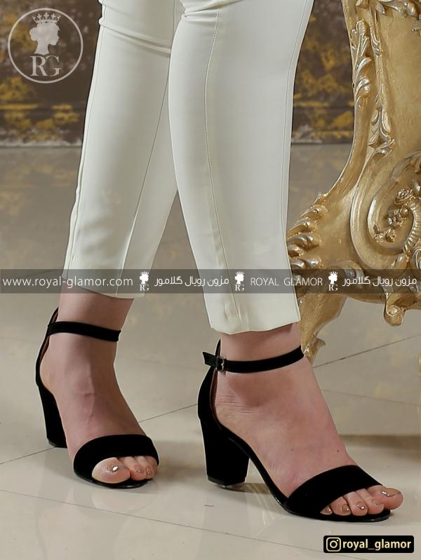 کفش زنانه مشکی RG9817