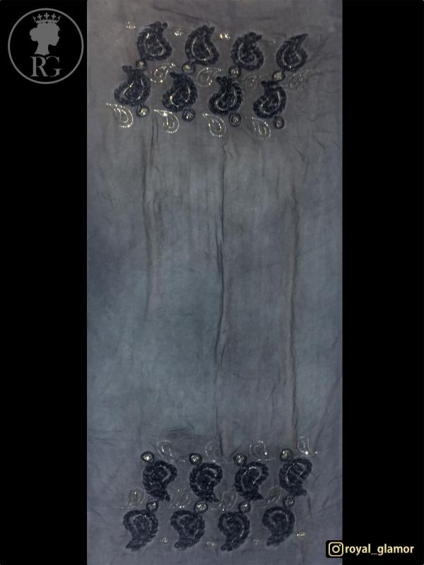 شال زنانه طرحدار RG6807