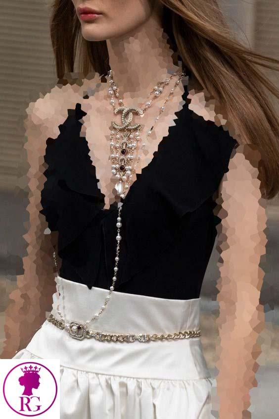 هماهنگی جواهرات با مدل کمربندزنانه و دخترانه