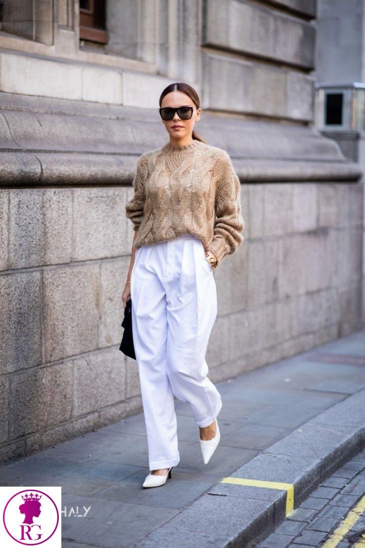 راهنمای ست کردن شلوار جین سفید