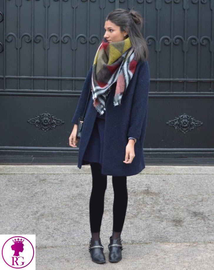 مدل جدید شال و روسری بزرگ پشمي نرم زنانه